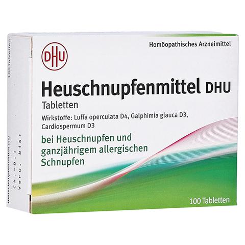 HEUSCHNUPFENMITTEL DHU Tabletten 100 Stück N1