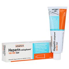 Heparin-ratiopharm 180000 100 Gramm N2