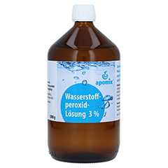 WASSERSTOFFPEROXID 3% DAB 10 Lösung 1000 Gramm