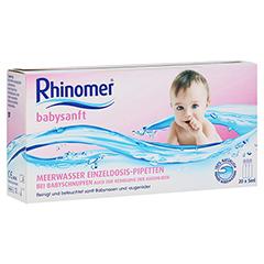 Rhinomer Babysanft Meerwasser 5ml Einzeldosispipetten 20x5 Milliliter
