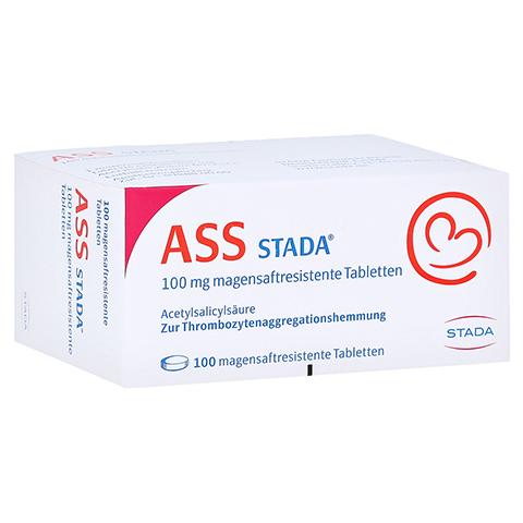 ASS STADA 100 mg magensaftresistente Tabletten 100 Stück N3
