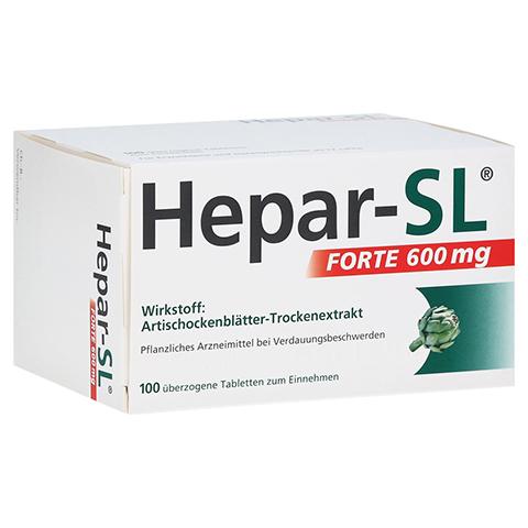 Hepar-SL Forte 600mg 100 Stück