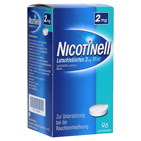 Nicotinell 2mg Mint 96 Stück