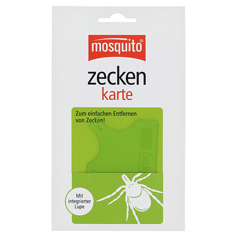 Mosquito Zeckenkarte 1 Stück