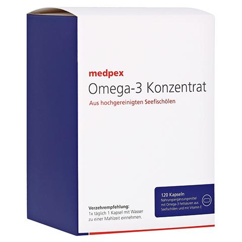 medpex Omega-3 Konzentrat 120 Stück