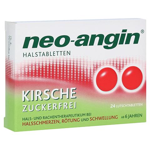 Neo-Angin Halstabletten Kirsche 24 Stück N1