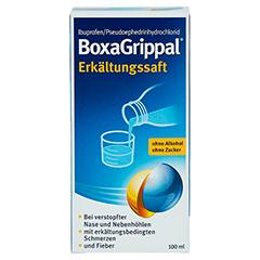 BoxaGrippal Erkältungssaft 100 Milliliter - Vorderseite