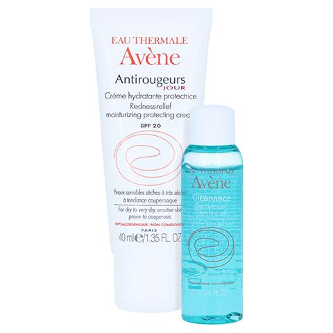 Avène Antirougeurs JOUR Feuchtigkeitscreme LSF 20 + gratis Avène Cleanance Cleansing Gel 20 ml 40 Milliliter
