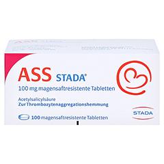ASS STADA 100 mg magensaftresistente Tabletten 100 Stück N3 - Vorderseite