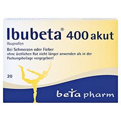 Ibubeta 400 akut 20 Stück - Vorderseite