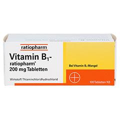 VITAMIN B1 ratiopharm 200 mg Tabletten 100 Stück N3 - Vorderseite