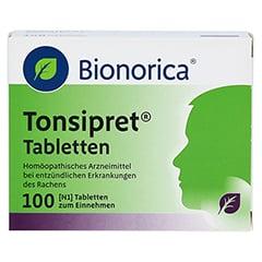 TONSIPRET Tabletten 100 Stück N1 - Vorderseite