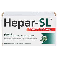 Hepar-SL Forte 600mg 100 Stück - Vorderseite