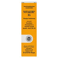 NOTAKEHL D 5 Tropfen 10 Milliliter N1 - Vorderseite