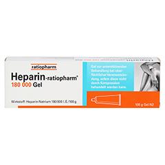 Heparin-ratiopharm 180000 100 Gramm N2 - Vorderseite