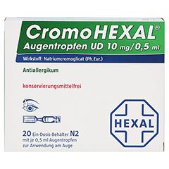 CromoHEXAL Augentropfen UD 20 Stück N2 - Vorderseite
