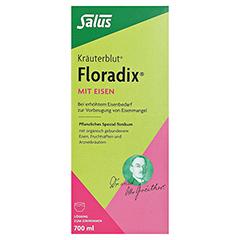 Floradix mit Eisen 700 Milliliter - Vorderseite