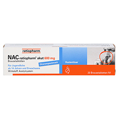 NAC-ratiopharm akut 600mg Hustenlöser 20 Stück N1 - Vorderseite