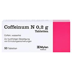 Coffeinum N 0,2g 50 Stück N2 - Vorderseite