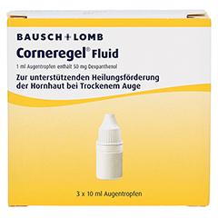 Corneregel Fluid Augentropfen 3x10 Milliliter N3 - Vorderseite