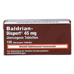 Baldrian-Dispert 45mg 100 Stück - Vorderseite