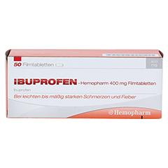 Ibuprofen-Hemopharm 400mg 50 Stück N3 - Vorderseite