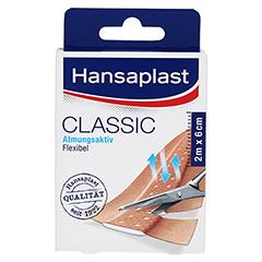 Hansaplast Classic Pflaster 6 cmx2 m 1 Stück - Vorderseite