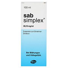 Sab simplex Suspension zum Einnehmen 100 Milliliter N3 - Vorderseite