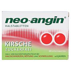 Neo-Angin Halstabletten Kirsche 24 Stück N1 - Vorderseite