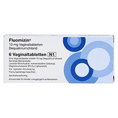 Fluomizin 10mg 6 Stück N1 - Vorderseite