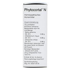 PHYTOCORTAL N Tropfen 100 Milliliter N2 - Linke Seite