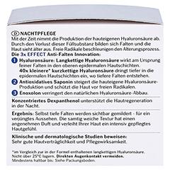 EUCERIN Anti Age Hyaluron Filler Nacht Tiegel+ gratis Elasticity+Filler Gesichts-Öl 5 ml 50 Milliliter - Linke Seite
