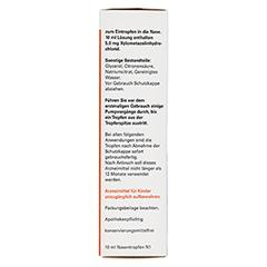 NasenTropfen-ratiopharm Kinder 10 Milliliter N1 - Linke Seite