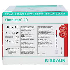 Omnican 40 Ins.Kan.Spr.1 ml/40 I.U 100 Stück - Rechte Seite