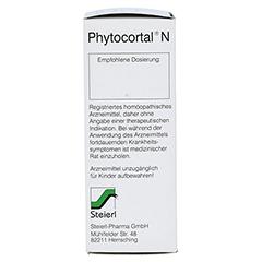 PHYTOCORTAL N Tropfen 100 Milliliter N2 - Rechte Seite