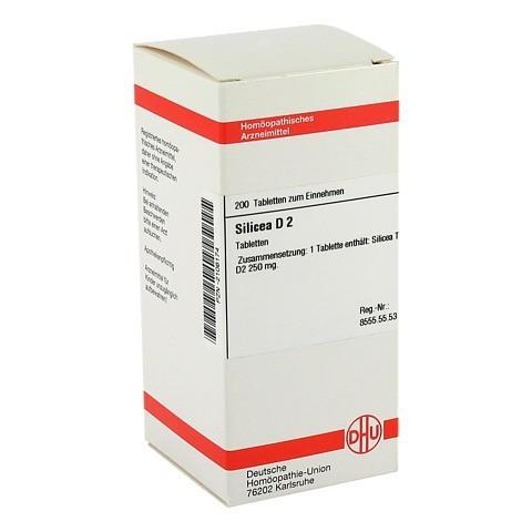 SILICEA D 2 Tabletten 200 St�ck N2