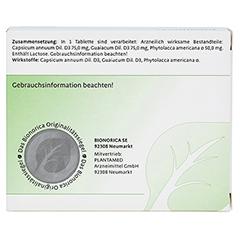 TONSIPRET Tabletten 100 Stück N1 - Rückseite