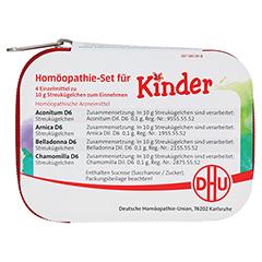 Homöopathie Set für Kinder 1 Stück - Rückseite