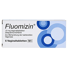 Fluomizin 10mg 6 Stück N1 - Rückseite