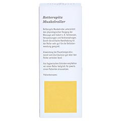 Retterspitz Muskelroller 50 Milliliter - Rückseite