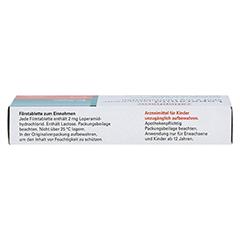 Loperamid-ratiopharm akut 2mg 10 Stück N1 - Oberseite