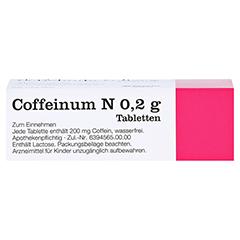 Coffeinum N 0,2g 50 Stück N2 - Oberseite