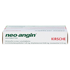 Neo-Angin Halstabletten Kirsche 24 Stück N1 - Oberseite