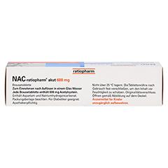 NAC-ratiopharm akut 600mg Hustenlöser 20 Stück N1 - Oberseite
