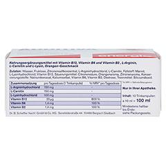 ADDITIVA Vitamin B12 Trinkampullen 10 Stück - Unterseite