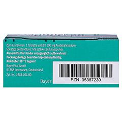 Aspirin N 100mg 98 Stück N3 - Unterseite