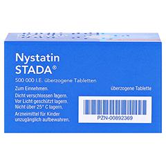 Nystatin STADA 500000I.E. 50 Stück N2 - Unterseite