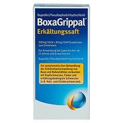BoxaGrippal Erkältungssaft 100 Milliliter - Rückseite