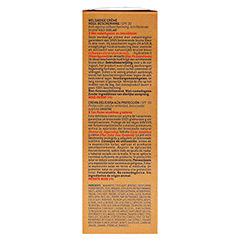 NUXE Sun Creme Visage LSF 30 + gratis NUXE Sun Lait Fraiche 50 Milliliter - Linke Seite