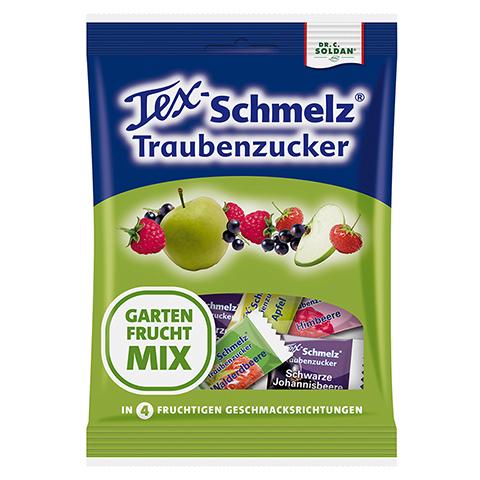 SOLDAN Tex Schmelz Traubenzucker Gartenfrucht-Mix 75 Gramm